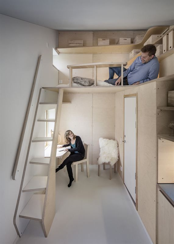 Tengbom Green Micro House Becomes Bokompakt Student Housing.