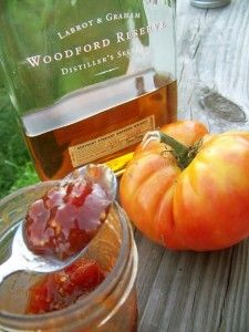 Bourbon Tomato Jam Recipe sweet and earthy!  Delicious on pork, and gives an unexpected warmth to pumpkin biscuits.  This is a must have for tailgating season!