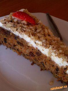 Mrkvový dort podle Michopulu úúúúúžasný