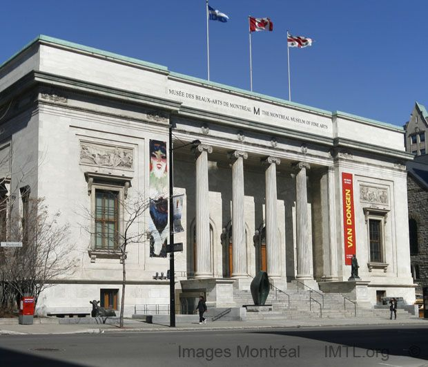 Montreal Museum of Fine Arts. 1380 Sherbrooke St W, Montreal, QC