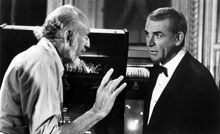 Three years after filming 'Star Wars Episode V: The Empire Strikes Back', director Irvin Kershner worked with Sean Connery on 'Never Say Never Again' (1983). Happy Star Wars Day!