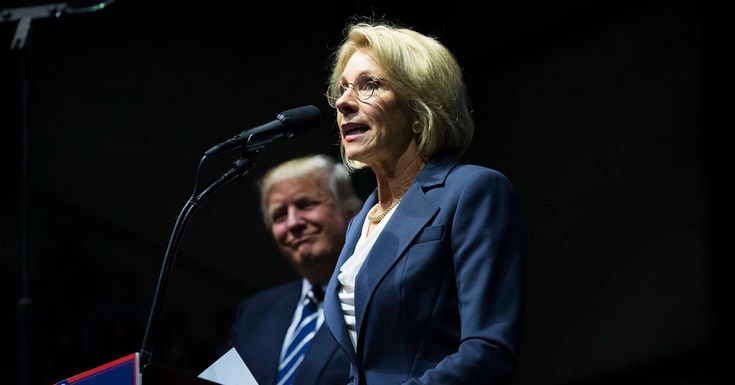 Betsy DeVos pushed back on any regulation of Detroit's troubled school system. Will she bring that free-market approach to America's public schools?