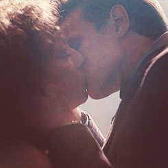 "Eleven kiss River in the Finale. (GIF) ""Goodbye Sweetie."" I screamed. NO! NO! No ""Goodbye""!"