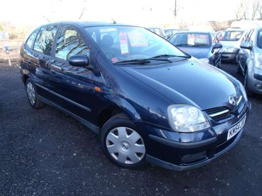 Used 2004 (54 reg) Blue Nissan Almera Tino 1.8 S 5dr for sale on RAC Cars