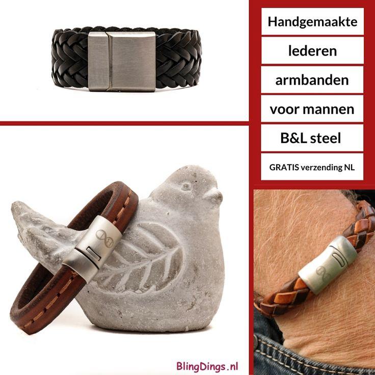 Echt voor mannen.... De B&L armbanden worden in Nederland met de hand gemaakt. De mooiste kwaliteit materialen worden er voor gebruikt. Ze worden dan ook geleverd met een garantie van 6 maanden. Wij hebben bieden een mooi assortiment aan in de webshop; http://blingdings.nl/bamp;l-leather/ Binnen Nederland geldt GRATIS verzending! Ps: dames niet getreurd want ook voor jullie hebben wij een mooi assortiment van B&L handgemaakte armbanden. Ik zeg dat wordt #webshoppen....
