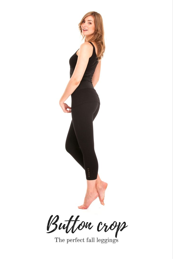 The Button #crop #leggings are the perfect length and design for #fall! Stay comfortable and look amazing !