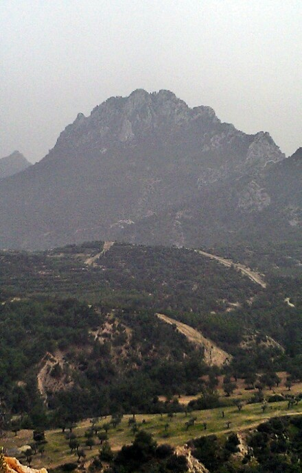 Five finger mountain(north Cyprus)