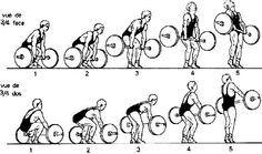 Le soulevé de terre est un exercice de musculation particulièrement efficace contre le mal de dos s'il est bien exécuté