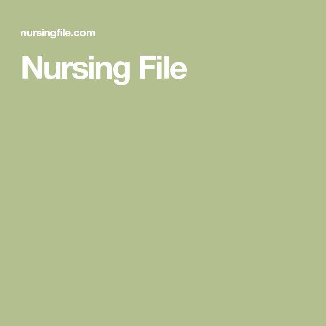 Nursing File