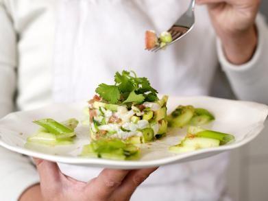 Tartaar van avocado met makreel