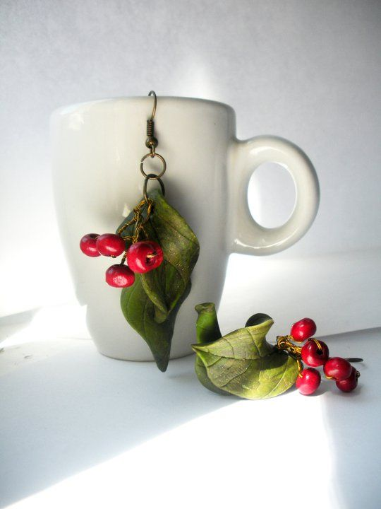 earrings: these would be cute for next year, I think I might try mistletoe though.