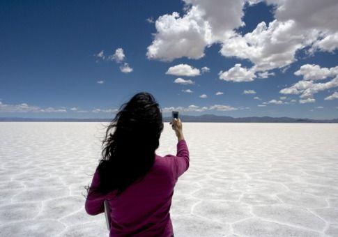 argentina salt flats, Northwestern Salta Province, Argentina.