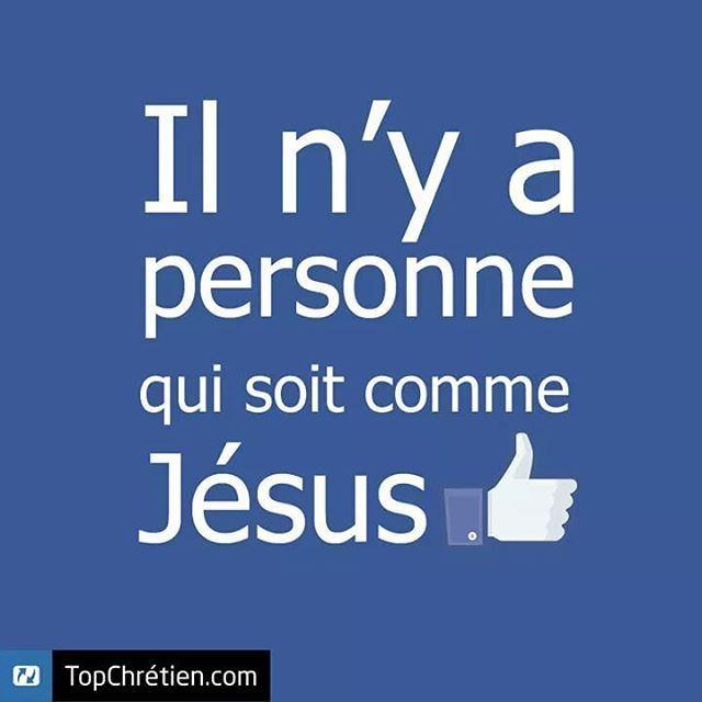 J'ai cherché cherché, personne, personne ...  Il n'y a vraiment personne comme Jésus !  Et toi, tu le crois ?  Aime et partage cette bonne nouvelle à tes amis !    Que Dieu te bénisse !    #TopChrétien #topchrétien #topchretien #encouragement #personne #seul #unique #jesus