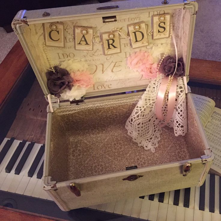 wedding gift card holders%0A Vintage Suitcase Wedding Card Holder Rustic Wedding gift table card box  Nautical Navy and Gold Wedding