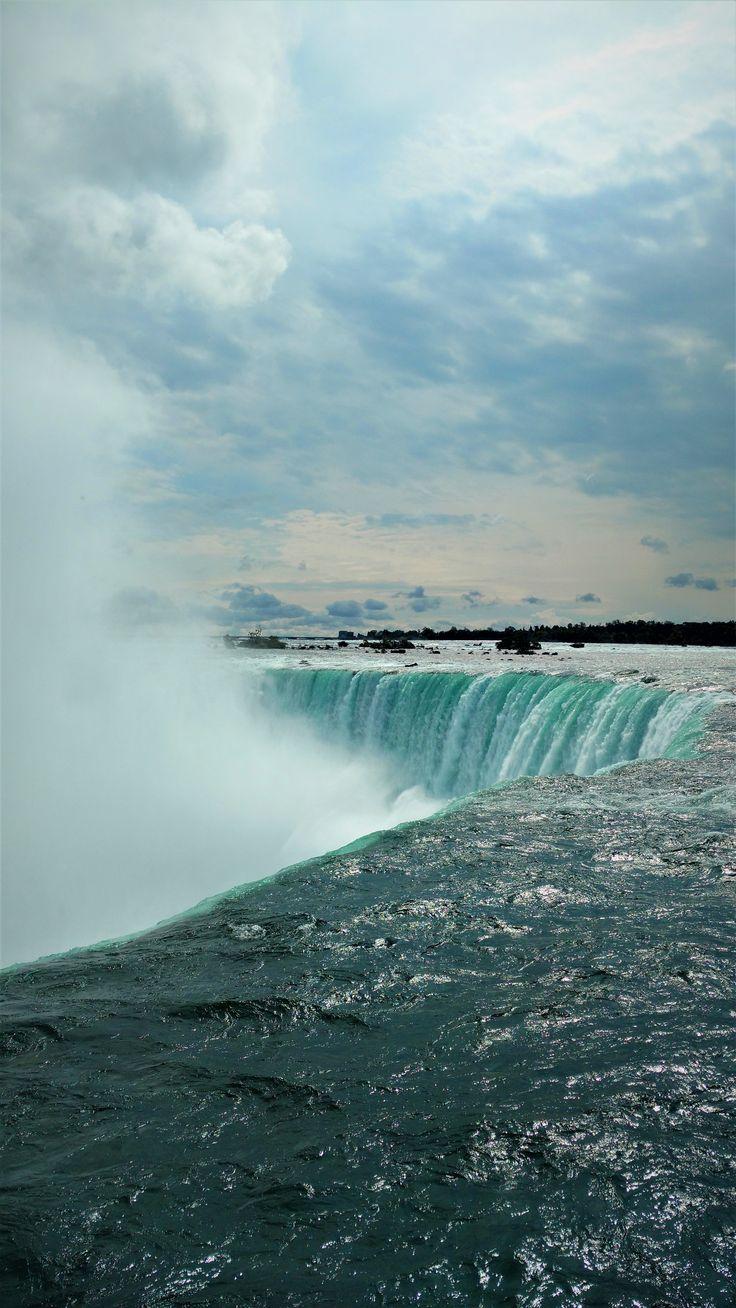Les Chutes du Niagara toujours aussi impressionnantes (photo personnelle)