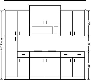 Kitchen Wall Cabinet Install Height Ideas Cabinets ...