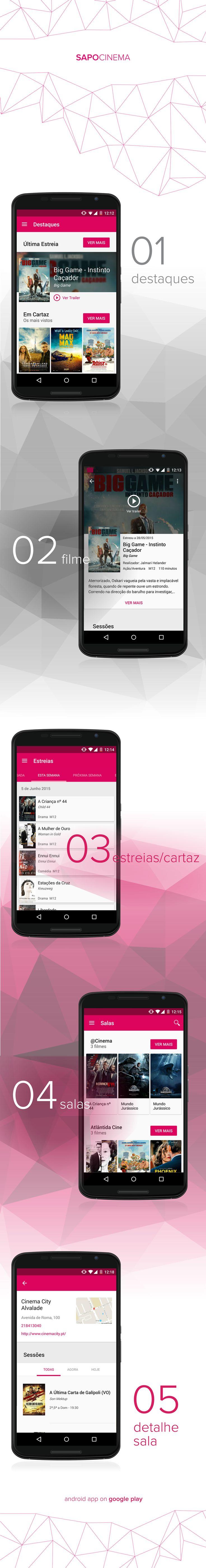 sapo cinema app - android