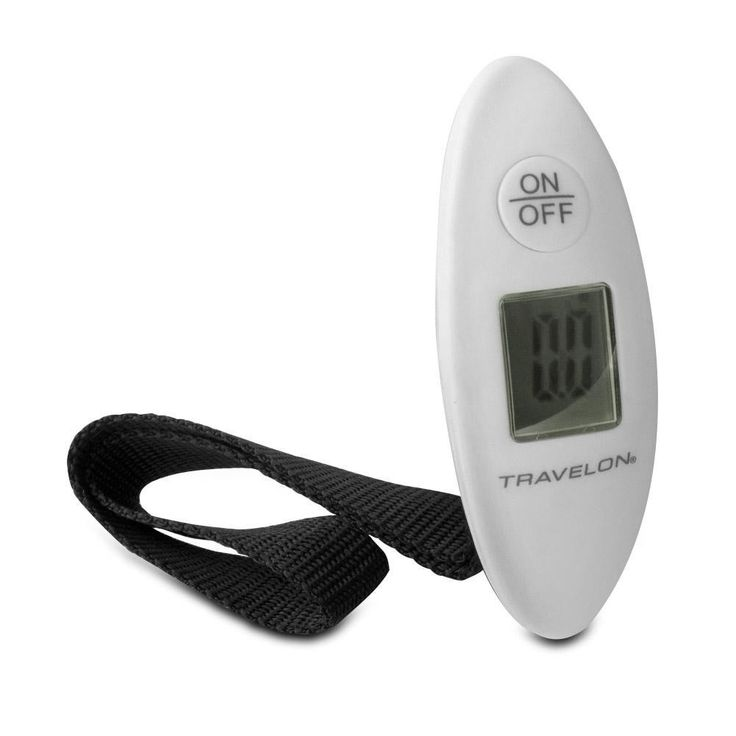 Travelon Luggage Pocket Scale - White