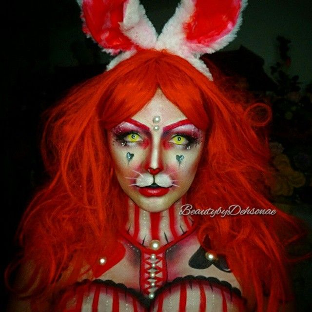 White Rabbit ❤ UGH! Thank you so much for all the love on my video and this look itself! I'm really happy everyone seems to enjoy this series! Only one more character to go!  I'll be relpying to everyone soon! Love you all!!! Products Used:  Face: @occmakeup Color Concentrate in vice all over face, @starcrushedminerals loose pigments in OLAF (which I now need more of! I'm obsessed) and Hestia. @sugarpill lashes in pixie bomb @nyxcosmetics white liner and matte black liquid liner. @meltcos...