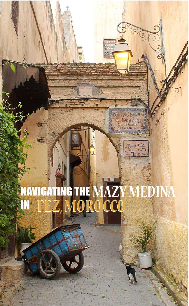 navigating the mazy medina in fez morocco