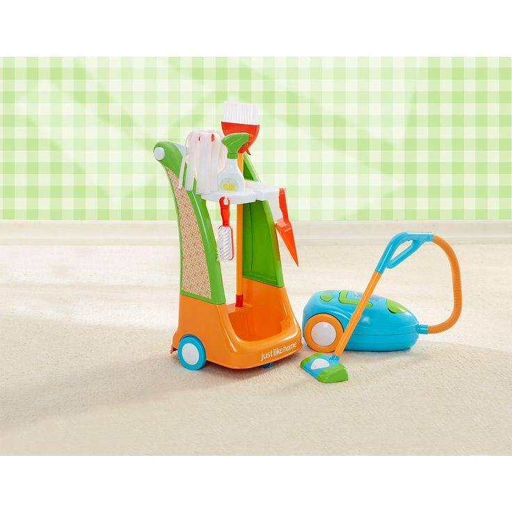 Just Like Home Toy Vacuum : Just like home cleaning trolley bottle and