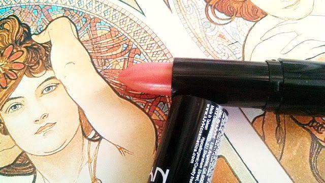 Помада NYX Extra Creamy Round Lipstick 550 Indian Pink #nyx #beautyblogger #lipstick #makeup