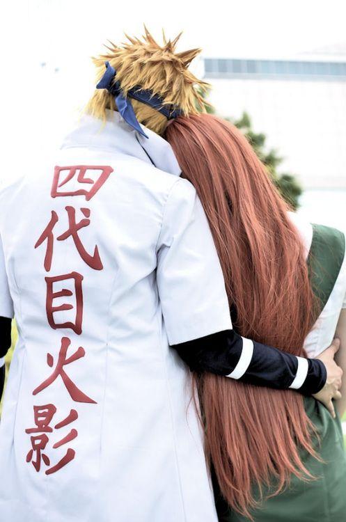 Minato and Kushina <3 || Melhor cosplay !!
