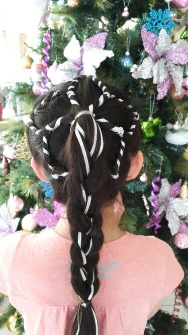 Snowflake hairstyles from Hair4myprincess