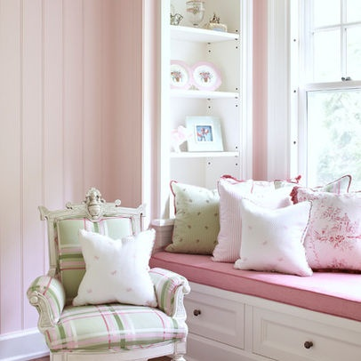 Girls Bedroom Pink Drapes Wood Floor Design Ideas, Pictures, Remodel, and Decor - page 12