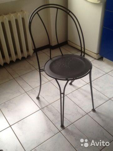 Металлические стулья 3 шт— фотография №2