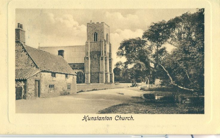 POSTCARD NORFOLK Hunstanton Church | eBay
