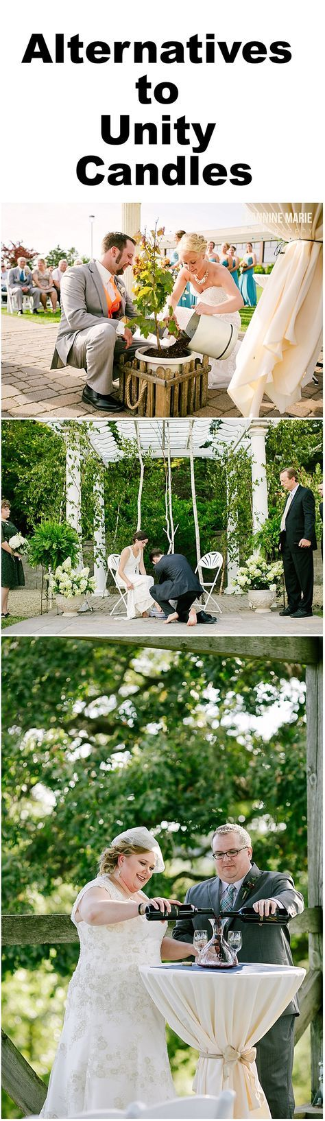Looking For Unique Unity Candle Alternatives Your Wedding Ceremony Check Out These Great Ideas