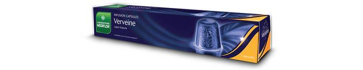 Les Infusions Capsules Verveine des laboratoires MEDIFLOR procure un effet tranquillisant et calmant.