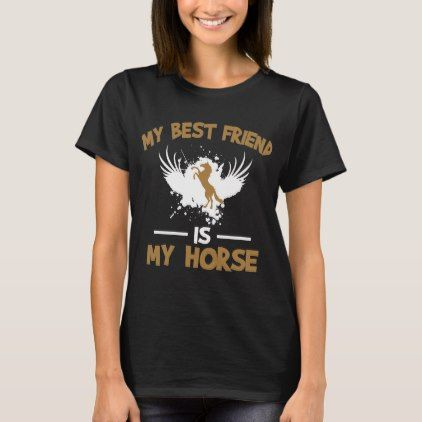 Perfect T-Shirt For Horse Lover. - kids kid child gift idea diy personalize design