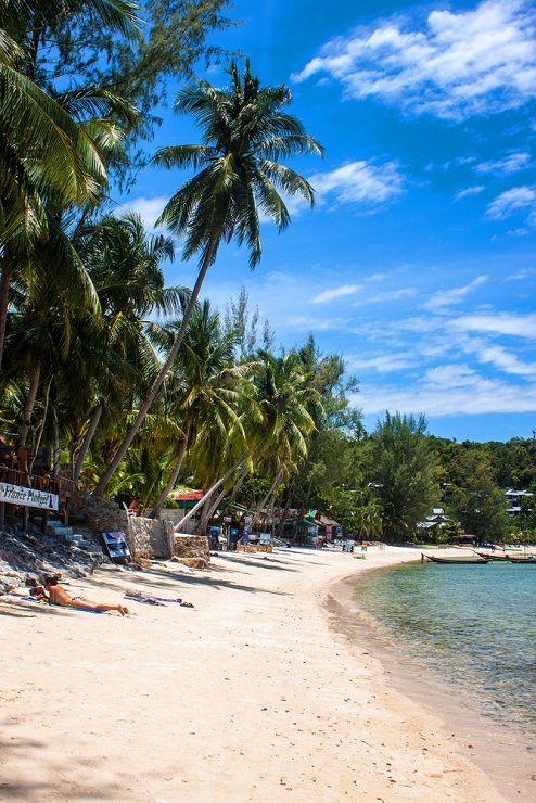 Haad Yao Beach on Ko Phangan Island in Thailand