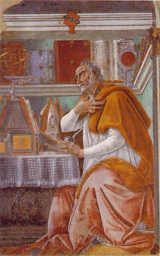 augustine and his thoughts on god But also in spiritual things let nothing changeable that may have occurred to the  mind be thought of god for when we aspire from this depth to.