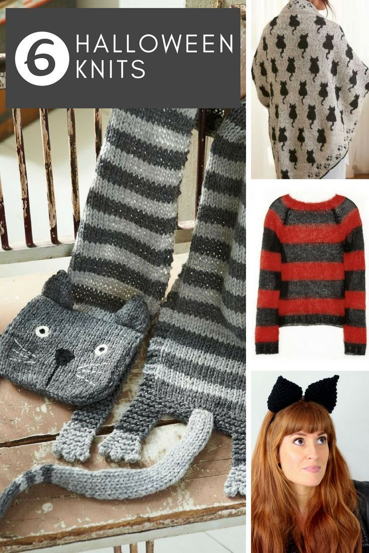 Spooky Knits For Halloween  Halloween knitting patterns