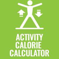 Activity Calorie Calculator