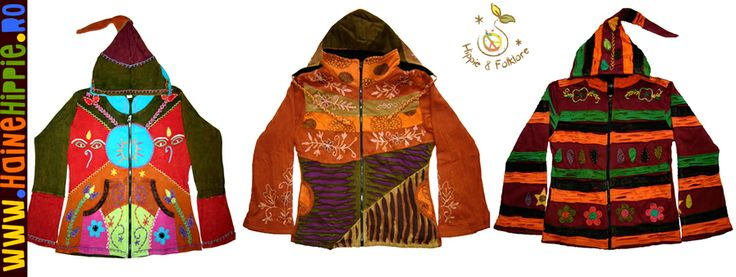 Hanorace si jachete etnice multicolore intr-o armonie perfecta la Haine Hippie..:)  ✿ http://www.hainehippie.ro/56-haine?p=2 ✿ ✿ Transport GRATIS la 2 hainute comandate de pe site ✿ ✿ Livrare in tara in 24h ✿ ✿ http://www.facebook.com/hainehippie ✿