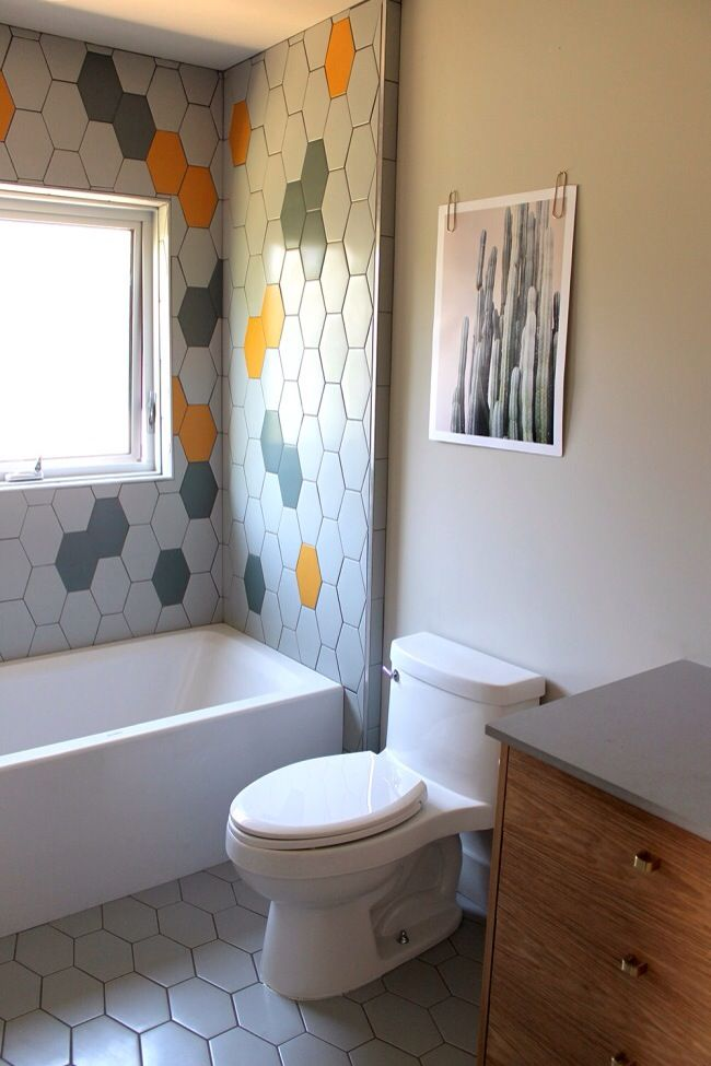 the 2015 sunset idea house remodel remains true to the homes midcentury roots - Midcentury Bathroom 2015