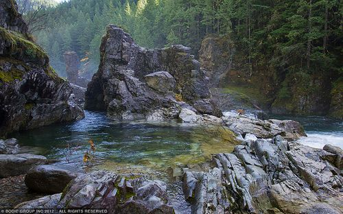 Willamette National Forest, Or. opal pool