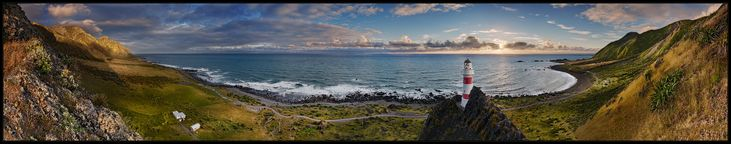 Bis ans Ende der Welt von Christian Maier (amarok)  Cabo Palliser, Nueva Zelanda