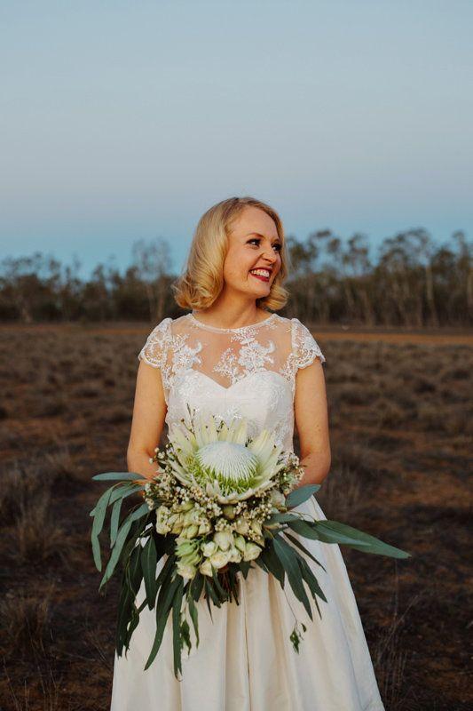 Gorgeous wedding in the Australian outback | Edwina Robertson Photography