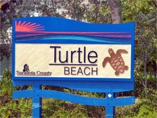 Turtle Beach is the less crowded of the Siesta Key, Florida Beaches.