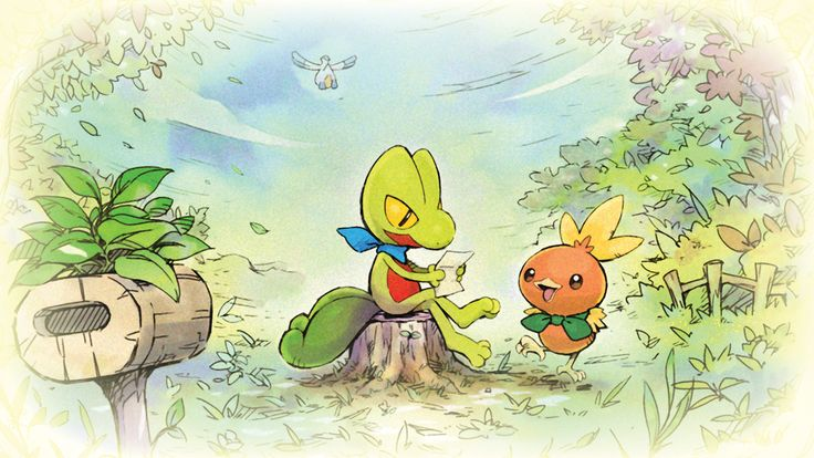 Friendly reminder from Treecko & Torchic: it's ok to go at your own pace. Pokémon Mystery Dungeon: Rescue Team DX is available now! Pokemon Special, Cool Pokemon, Trees To Plant, Pikachu, Mystery, Images, Adventure, Drawings, Artwork