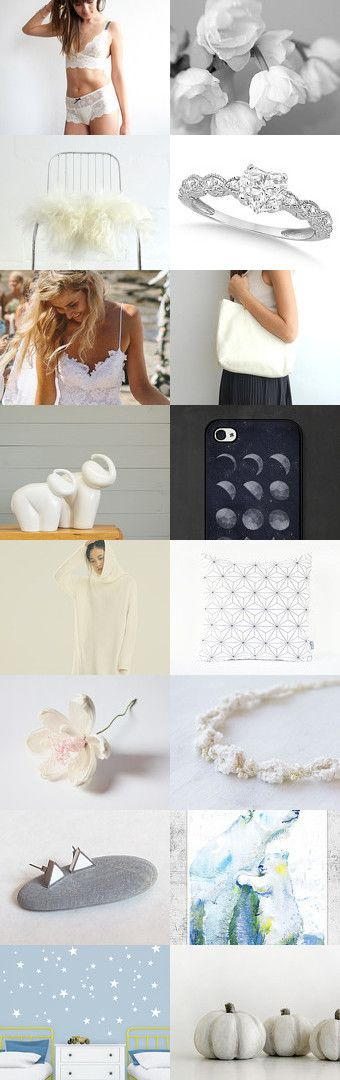 White Monday and the Sky by Bibe Jewelry on Etsy--Pinned with TreasuryPin.com