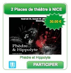 2 Places de Théâtre sur Nice à remporter sur www.bingosocialmedia.fr @BSM_fr