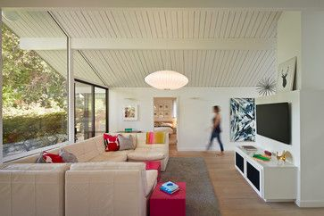 Eichler mid-century modern remodeled/updated :: Still contemporary 50 years later...