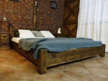Borovicová postel Rustyk / Ostrowit II 140