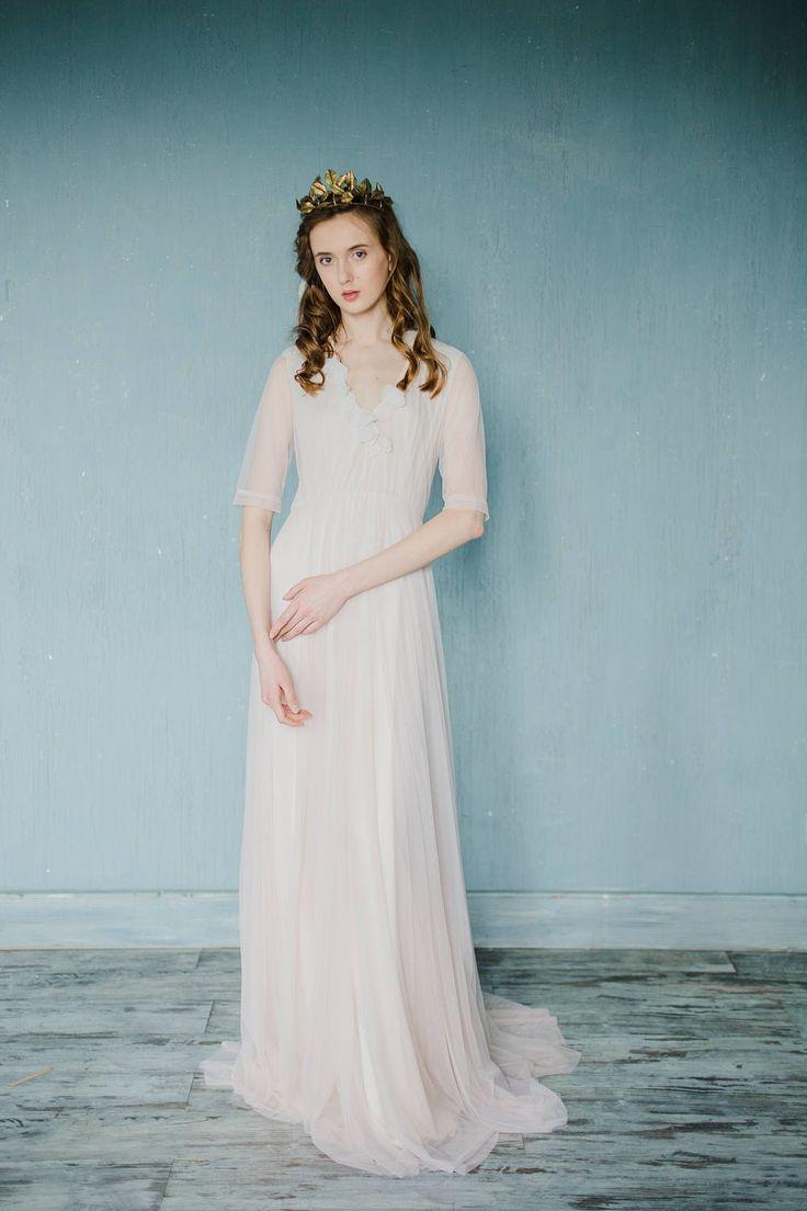 39 best Modest wedding dresses images on Pinterest | Short wedding ...